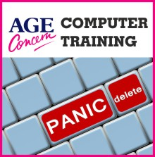 AGE CONCERN COMPUTER TRAINING IN STALBRIDGE