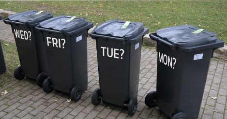 Bin dates for Stalbridge at Christmas time